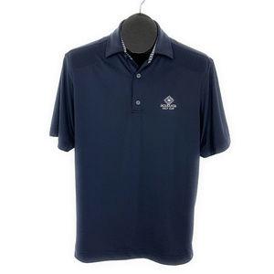 FootJoy FJ Polo Shirt S Blue Jacaranda Golf Club